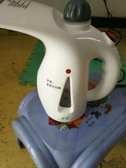 迷你家用熨烫衣服蒸汽蒸脸机家用加湿器熨斗手持挂烫机 白色 晒单图
