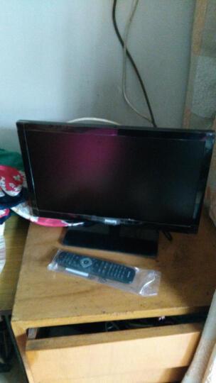 飞利浦(PHILIPS) 19英寸液晶电视机 显示器  带av接口 vga接口 两用 黑色 底座+挂架 晒单图