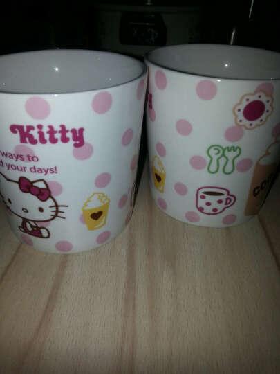 HELLO KITTY(凯蒂猫)陶瓷创意水杯 女生马克杯茶杯办公室咖啡杯可爱喝水杯子 心彤杯 晒单图