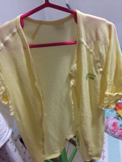 婴儿衣服纯棉 新生儿连体衣和尚服系带绑带哈