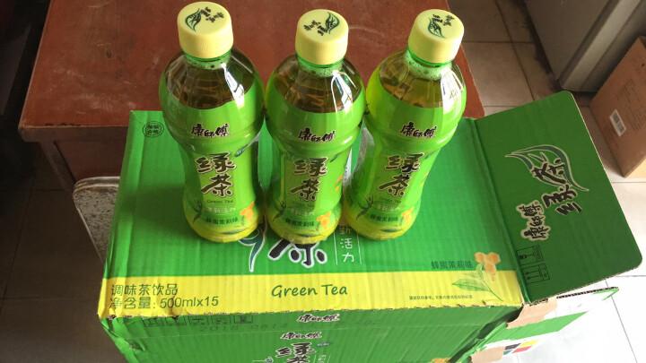 康师傅 绿茶 蜂蜜茉莉味饮料 500ml/550ml*15瓶 整箱装(新老包装自然发货) 晒单图