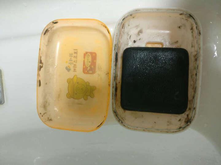 买一送三 纯贞竹炭去黑头手工皂 洗面奶精油皂洁面乳香皂控油保湿补水去角质去螨虫 男女适用 晒单图