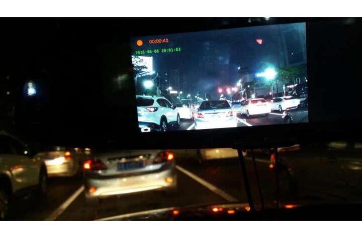 任e行EM60双镜头后视镜行车记录仪7.0英寸大屏 选配导航流动测速多功能一体机 双镜头导航版+固定测速电子狗+32G卡 晒单图