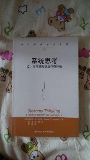 当代世界学术名:系统思考 晒单图
