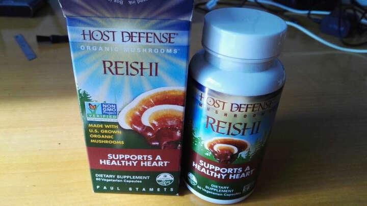【全球购】美国进口营养保健品HostDefense赫迪芬生 猴头菇胶囊 30粒 晒单图
