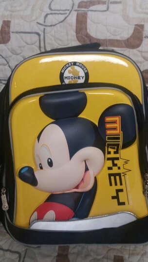 迪士尼(DISNEY)书包小学生男女儿童 卡通背包3D立体透气双肩背包 轻便大容量 11255米奇黄色 晒单图