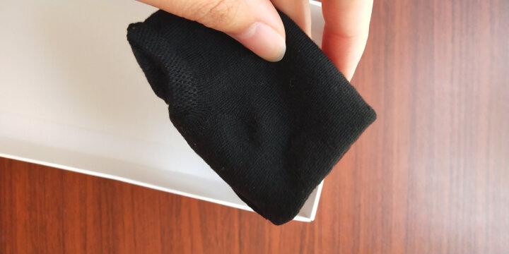米大爷袜子女短袜秋冬季纯棉女士袜子薄款短中筒浅口运动隐形船袜 6色6双礼盒装 均码 晒单图