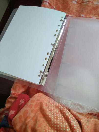 YOQUN 道林活页纸 活页笔记本替芯活页内芯A4B5A5A6A7空白方格牛皮纸可定制 A7-6孔-方格 晒单图