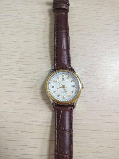 瑞之缘男士手表防水男表女表皮带手表女士手表石英表