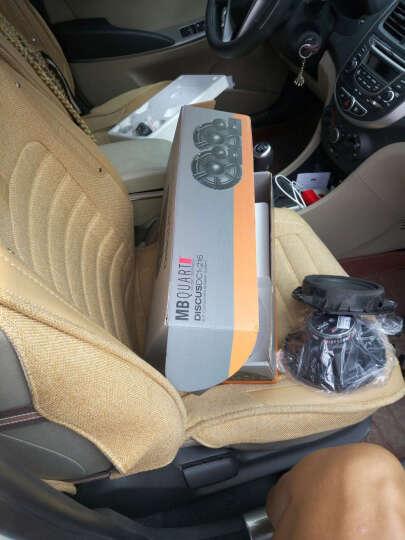 德国车载歌德汽车音响汽车喇叭改装套装6.5寸两分频高音头仔重低音炮箱中音扬声器功放CD机 前门2个高音2个中低音+后2个同轴喇叭 晒单图
