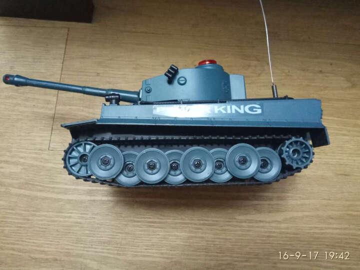 环奇 大手柄遥控器红外线对战坦克-绿迷彩(2.4G) 晒单图