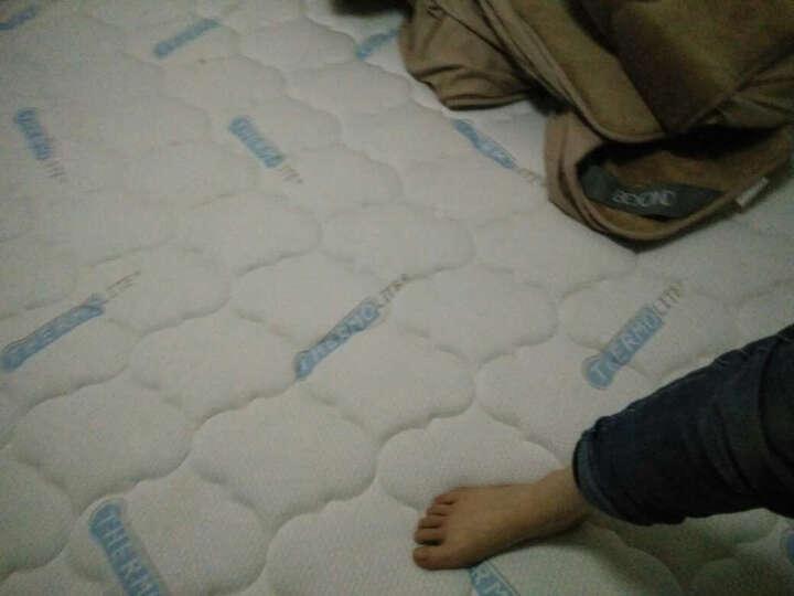 眠神(mianshen) 眠神 床垫 乳胶床垫1.8米 环保零甲醛 偏硬护脊弹簧床垫 卡思C(波浪棉+天然乳胶+静音弹簧) 1500*1900 晒单图