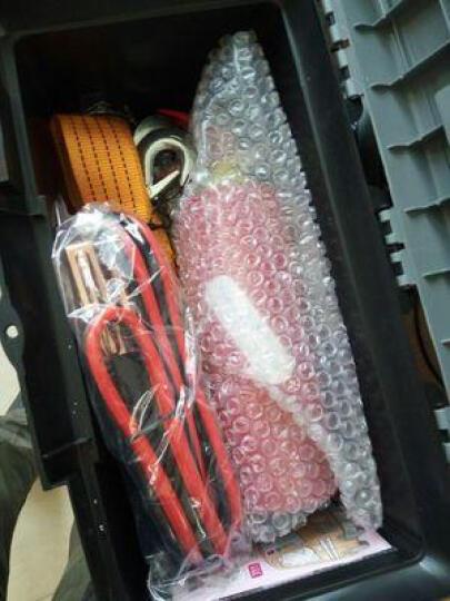 优驰(yooch)汽车应急包救援车用应急工具包车载灭火急救包器安全锤拖车绳安全自驾 10合1-救车工具箱 晒单图