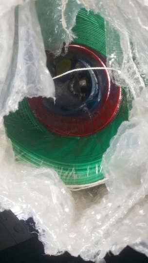 特变电工 鲁能泰山电线电缆BV2.5平方铜芯国标开关插座线家用单芯硬线 绿色国标足百米-零线 100米 晒单图