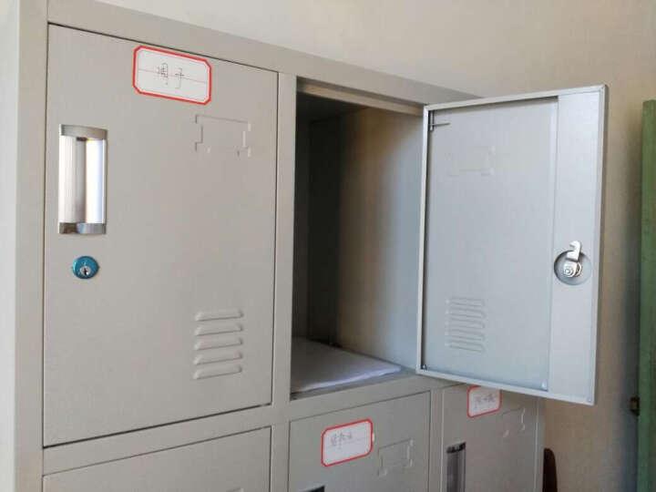 德浩办公家具钢制文件柜铁皮柜档案柜器械柜内保险柜资料柜凭证柜带锁抽屉柜加厚柜 图八 豪华型0.8mm 晒单图
