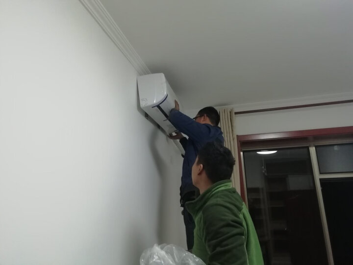 TCL 大1匹 变频 冷暖 家电家用 卧室 壁挂式空调挂机 (KFRd-26GW/XD13BpA) 晒单图