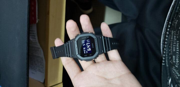 卡西欧(CASIO)男表G-SHOCK系列小方块男士防水防震运动多功能手表石英表 DW-6900NB-7D 晒单图