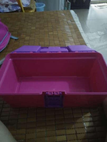 粉纸画笔调色盘水粉画颜料盒工具 彩色567工具箱单个 水粉工具 难
