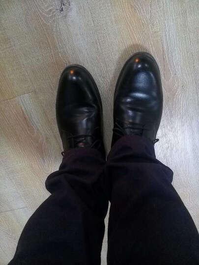 意利船长 男士皮鞋正装男士休闲鞋男鞋商务休闲皮鞋1663 S-1663黄色 39 晒单图