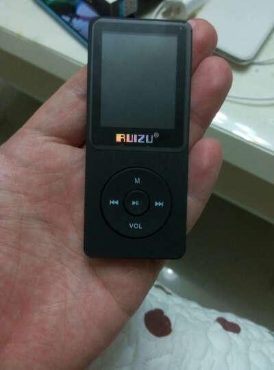 锐族(RUIZU) X02 8G 黑(不配耳机 ) 无损音乐播放器mp3/mp4 随身听 英语学习 晒单图