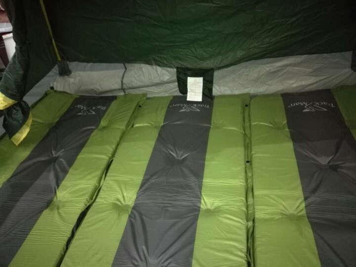 自游人 Trackman 双人自动充气垫防潮垫 户外帐篷充气床 野营睡垫午休床垫加厚5cm隔潮垫 军绿色 晒单图