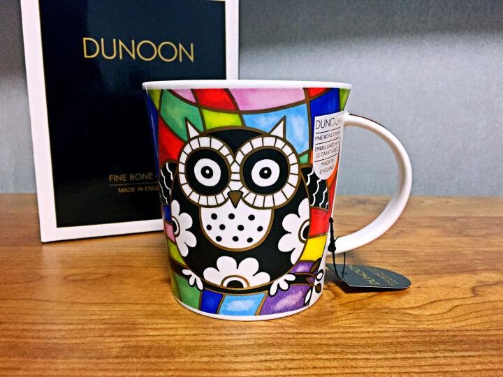 DUNOON丹侬英国进口杯子 咖啡杯马克杯陶瓷杯情侣杯杯子创意骨瓷杯 猫头鹰 相爱 晒单图