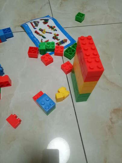 益智玩具塑料积木 幼儿乐园雪花片拼插搭构建片 儿童算数字学习 赠品积木100G多样随机 晒单图