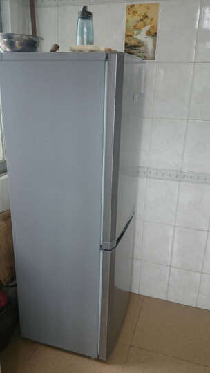 夏普(SHARP)188升 双门冰箱 立体蒸发器 节能环保 品牌压缩机 BCD-188HTD-S 晒单图