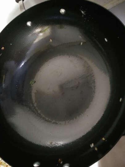 爱仕达ASD 炒锅铁锅 精铸铁不生锈无涂层炒菜锅具电磁炉炒锅 32CM有副把手 晒单图