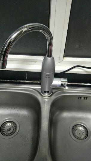 沃牧 电热水龙头 即热式电热水器 快速热加热水龙头 淋浴厨房热宝 下进水【数显+漏保】 晒单图