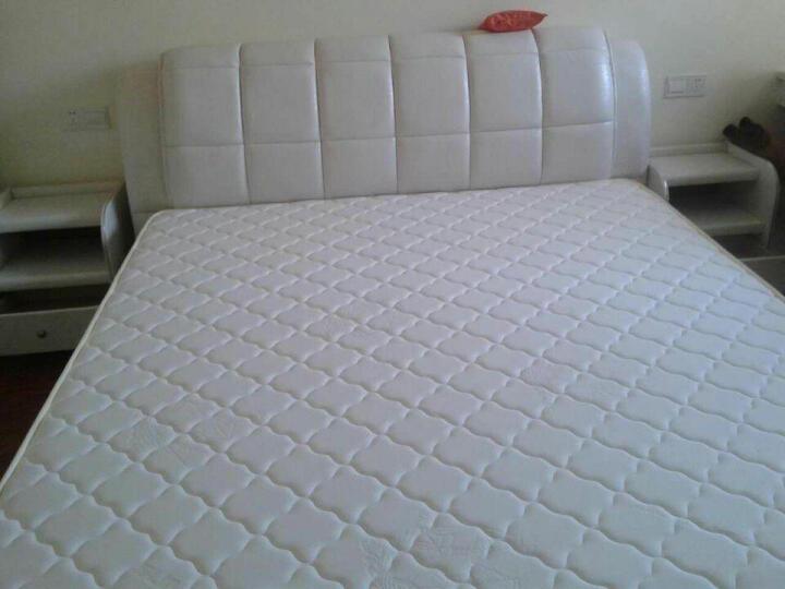 双虎(SUNHOO) 双虎家私 双人床家具床 现代简约板式床 卧室家具套装组合 B1 低箱床+床头柜*2+B1四门衣柜+舒梦床垫 1800mm*2000mm 晒单图