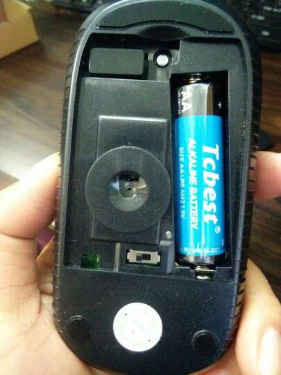 seenDa 2.4G无线鼠标安静 充电鼠标微声办公鼠标男女联想华硕通用笔记本台式电脑 新款无声充电(黑色) 晒单图