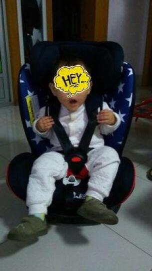 乖乖乐儿童安全座椅汽车用车载0-3-4-12岁宝宝婴儿坐椅正反安装可调节安全座座椅可坐可躺 安全带潘多拉黑 晒单图