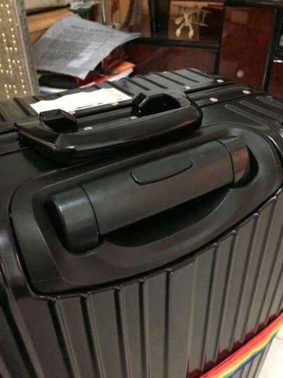 ?新款旅行箱拉链铝框拉杆箱20寸学生行李箱20寸箱子旅行箱万向轮密码箱登机箱 喜庆红-铝框款 24寸丨托运箱 晒单图