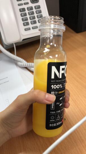 农夫山泉 果汁100%NFC纯橙汁/苹果香蕉汁/芒果汁3口  味300ml*6/24瓶装整箱 300ML*24瓶100%NFC苹果混合汁 晒单图