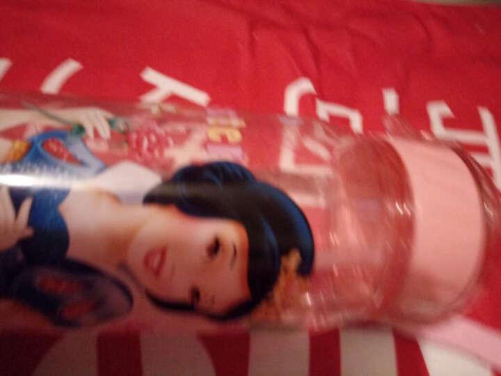 先行儿童杯迪士尼乐宝卡通系列小孩吸管杯 学生塑料水杯子防漏户外运动随手杯400ml 迪士尼公主粉 晒单图