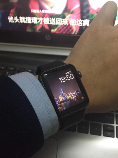 Apple Watch Series 1 智能手表(42毫米玫瑰金色铝金属表壳 粉砂色运动型表带 防水溅 蓝牙 MQ112CH/A) 晒单图