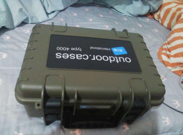 德国倍威数码防护箱相机单反防潮箱镜头收纳箱type4000 Type4000/NG/SI 晒单图