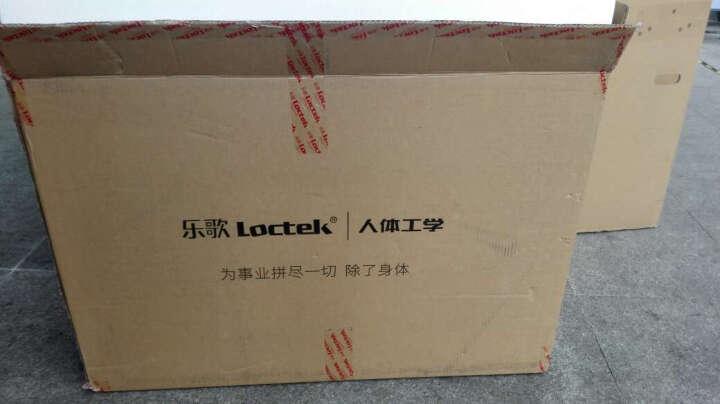乐歌(Loctek)站立办公升降台式电脑桌 笔记本显示器支架办公桌 可移动折叠升降家用升降台书桌 M1M黑 晒单图