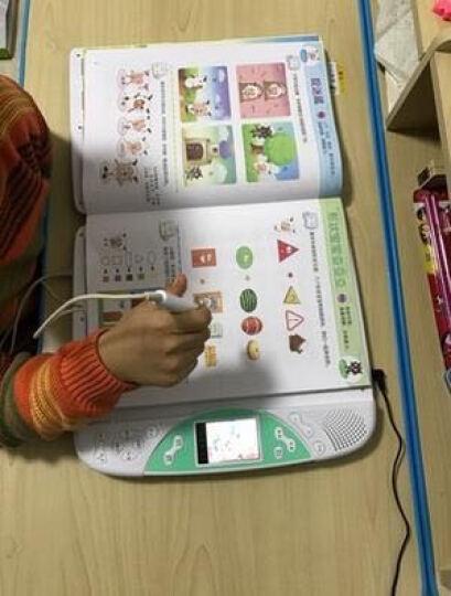 优易典 F60点读机幼儿4.3英寸触摸屏小学初中课本同步 天蓝色16G资料卡 晒单图