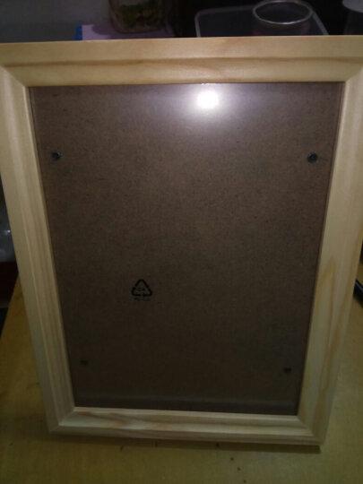 亮丽(SPLENDID)相框摆台画框照片墙 8英寸 质生活原木色 晒单图
