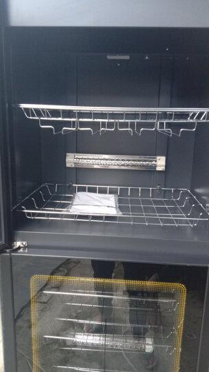 德玛仕(DEMASHI)消毒柜 家用 立式 厨房商用 茶杯餐具消毒碗柜 大容量保洁柜双开门 中温-ZTP380H-1A(微电脑触控) 晒单图