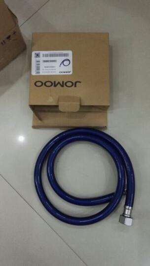 九牧(JOMOO) 卫浴配件不锈钢塑钢管双头软管耐高温抗拉伸弯曲塑钢管  H4139 60CM 晒单图