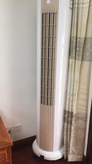 TCL 空调二级能效智能定频圆柱型立柜式 空调柜机 小炫风系列 大2匹 适用18~30平 晒单图