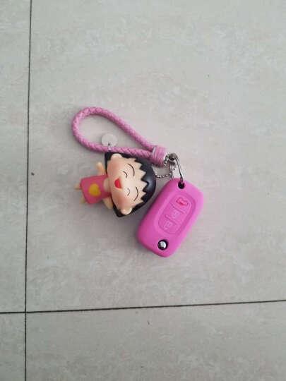 kucus 奔驰smart钥匙套fortwo斯玛特钥匙包forfour汽车女士钥匙扣改装壳 黑色蝙蝠侠暴力熊款 晒单图