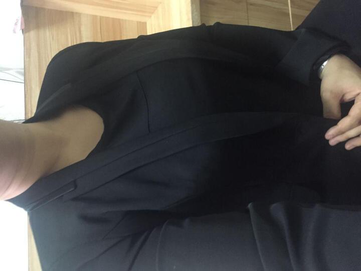 瑞璐莎 职业套装女职业装女装套装秋冬新款修身小西装女酒店前台迎宾空姐工作服9 深蓝色西装+裤子 XXXL 晒单图
