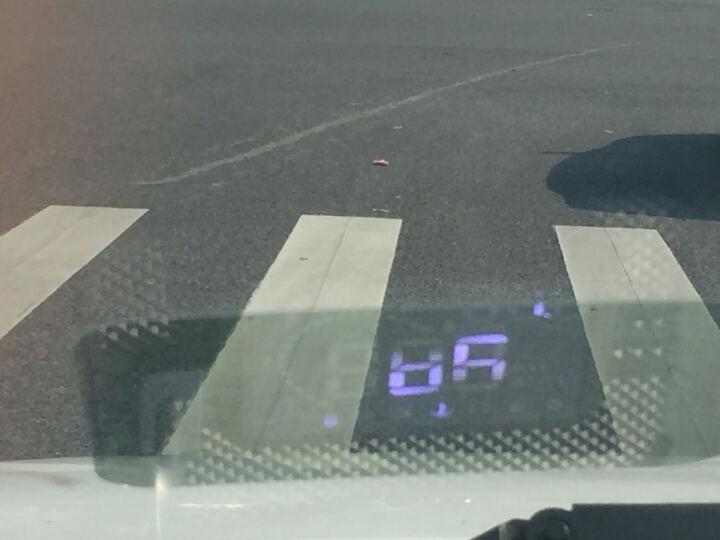 方正(ifound)第四代HUD抬头显示仪OBD接口汽车载行车电脑时速油耗转速显示器 升级版3.2英寸屏第四代H302(2年质保) 晒单图
