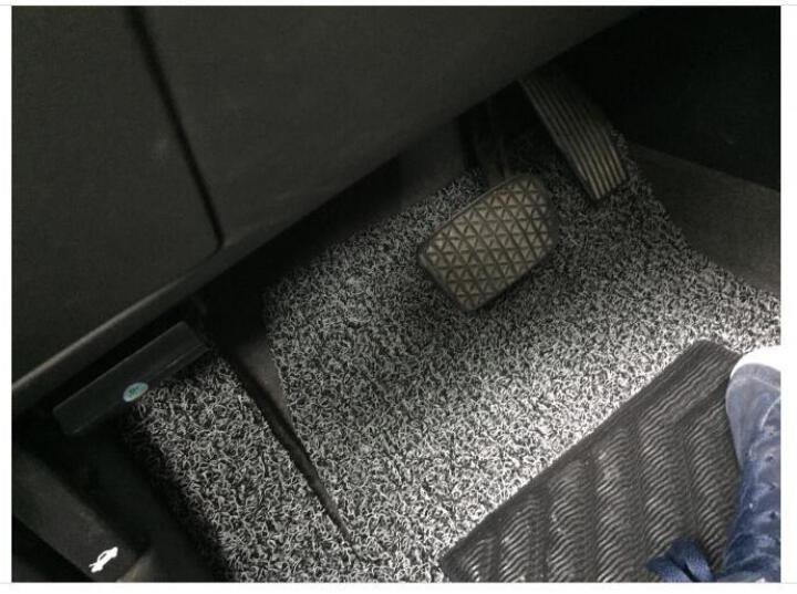 康车宝 订制丝圈汽车脚垫专用于速腾科鲁兹福克斯朗逸帕萨特高尔夫7宝来卡罗拉凯越专车专用脚垫 黑色 晒单图