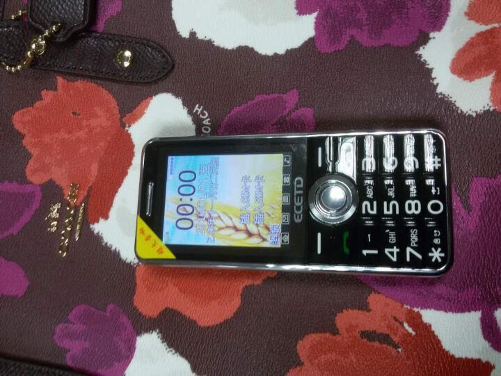 亿达E988A 移动联通2G长待机老人手机 双卡双待 星亮黑 晒单图