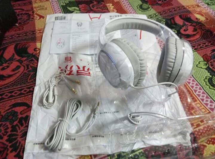 漫步者(EDIFIER)K815P 多媒体全功能耳机 电视耳机 电脑耳麦 游戏耳机 绝地求生耳机 吃鸡耳机 白色 晒单图